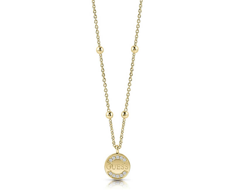 Guess Modă colier de aur UBN28038