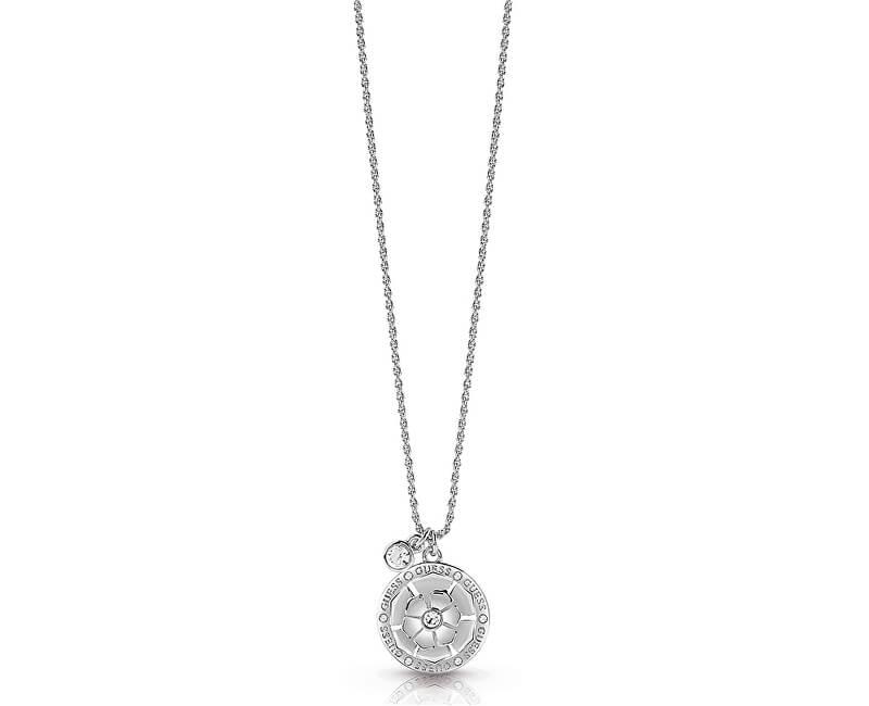 Guess Něžný náhrdelník s krystaly UBN28094