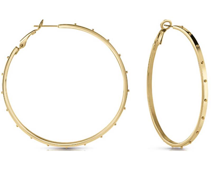 Guess Cercei placate cu aur cercuri UBE28087
