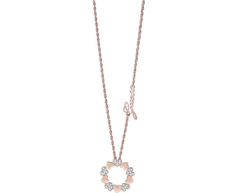 Guess Romantic inel de buchet de flori UBN85047