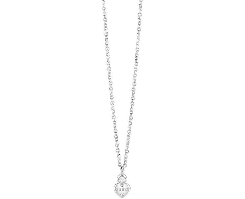 Guess Srdíčkový náhrdelník UBN82010