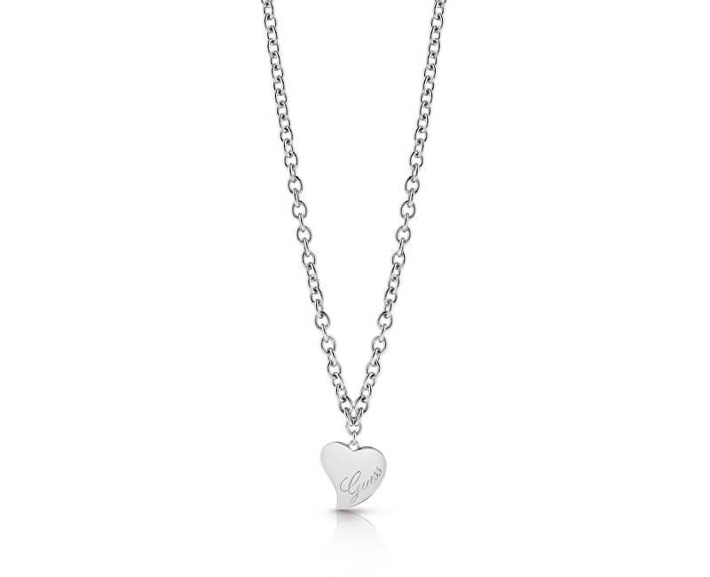 311385f4a1 Guess Stylový náhrdelník se srdíčkem UBN28059 ...