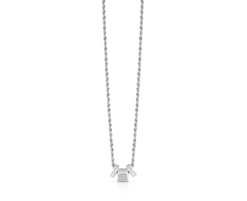 Guess Trendy náhrdelník s príveskami UBN84047