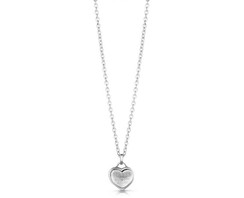 348d70be5 Guess Zamilovaný náhrdelník se srdíčkem UBN28011 Doprava ZDARMA ...
