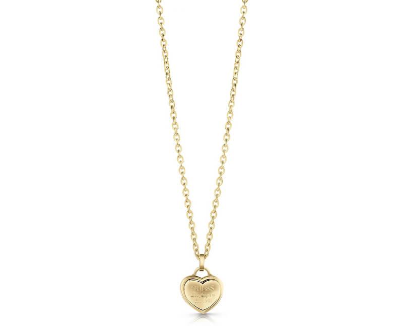 Guess Love colier cu inima UBN28012