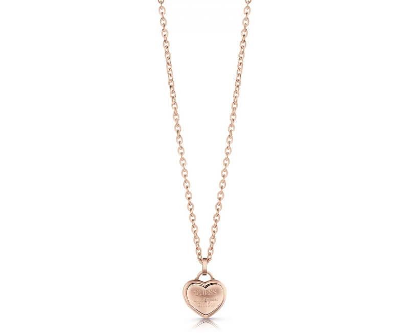 06782a6d84 Guess Zamilovaný náhrdelník se srdíčkem UBN28013