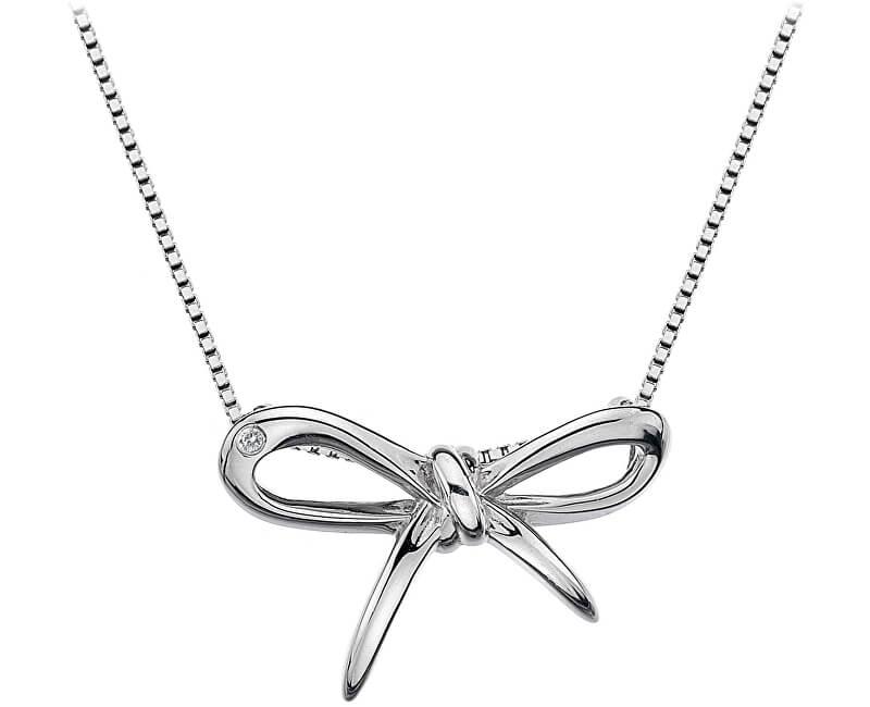 Hot Diamonds Strieborný náhrdelník Flourish DP471