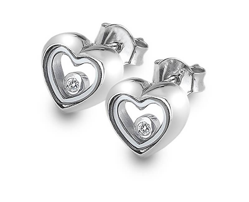 Hot Diamonds Stříbrné náušnice Anais AE013