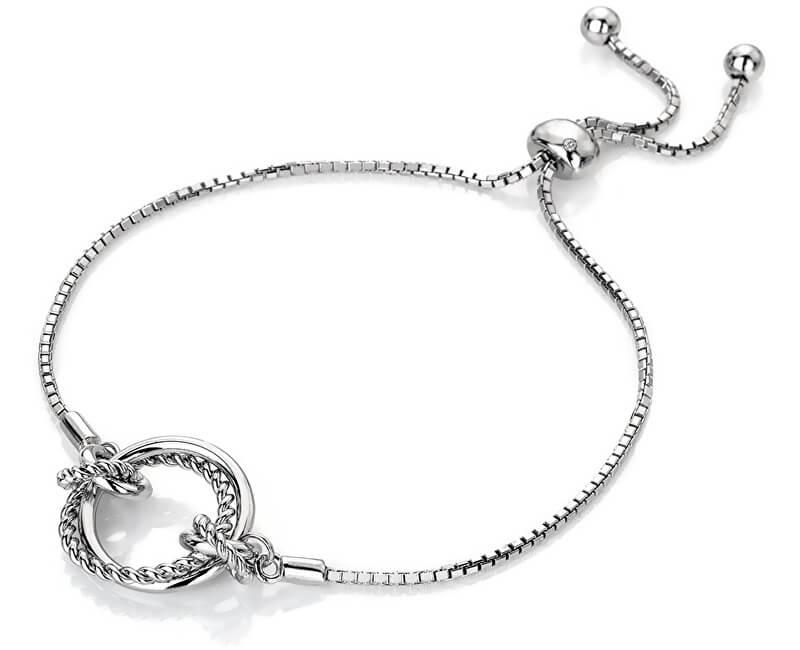 Hot Diamonds Brățară de argint cu diamantul drept Jasmine DL594