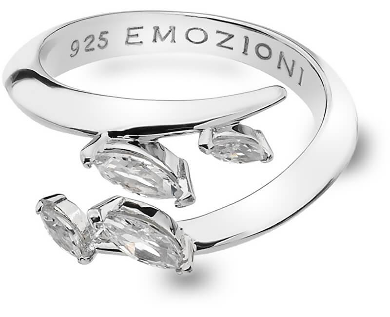 Hot Diamonds Stříbrný prsten Hot Diamonds Emozioni se zirkony ER023