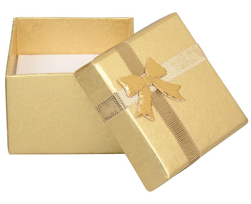 JK Box Dárková krabička na náušnice a prsten RZ-3/AU