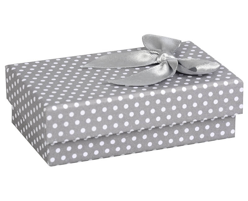 JK Box Puntíkatá krabička na soupravu šperků KK-6 A3  b9b666f8a2a