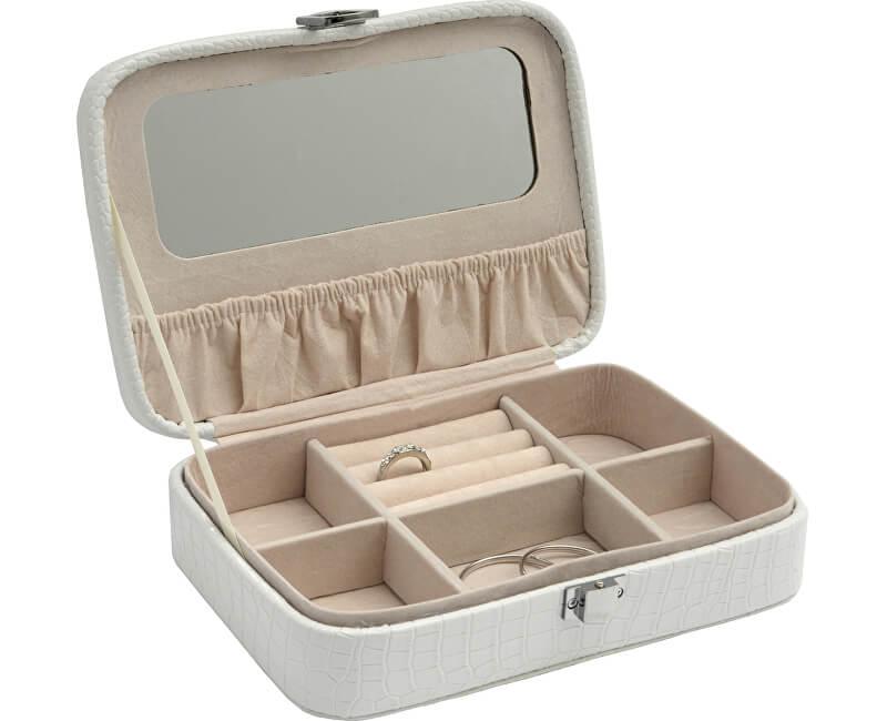 JK Box Bílá šperkovnice SP-634/A1