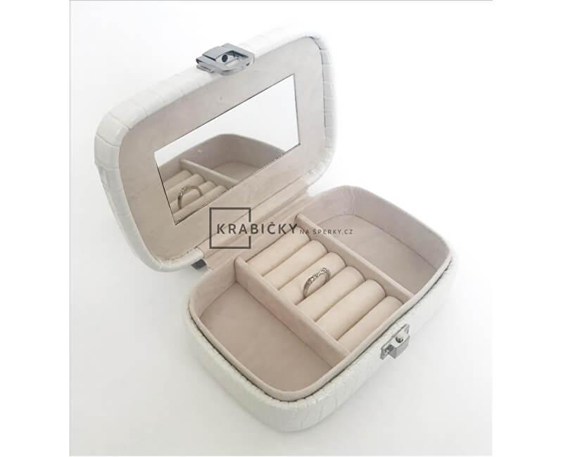 JK Box Bílá šperkovnice SP-954/A1