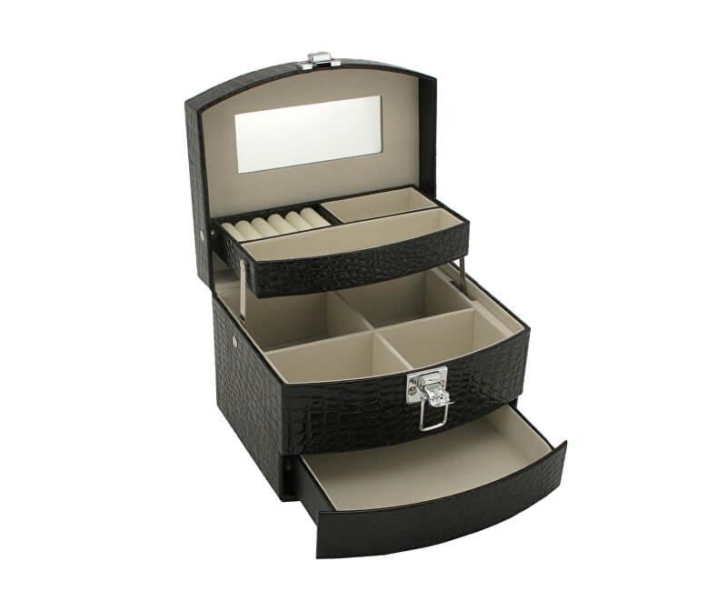JK Box Černá šperkovnice SP-304/A25/N