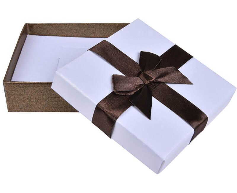 JK Box Hnědá krabička na soupravu šperků AP-5/A21
