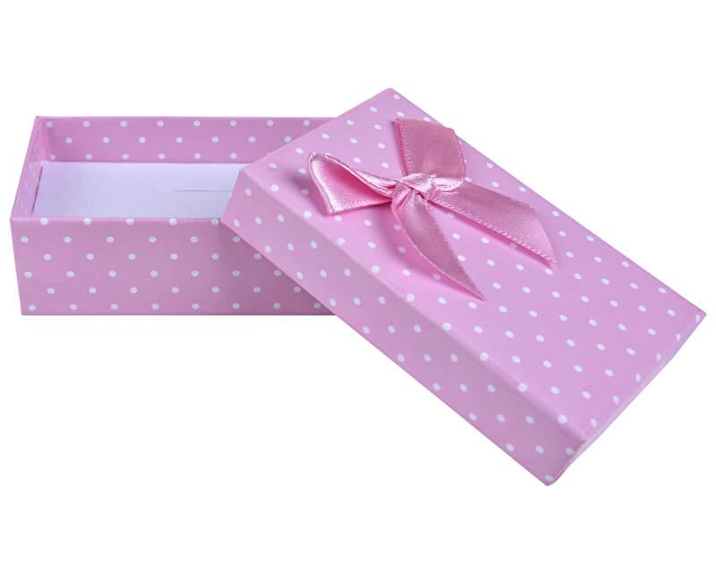 Jan KOS Pink polka dot box pentru bijuterii set KK-6 / A5