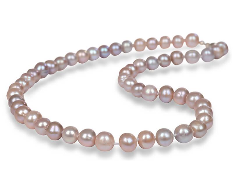 JwL Luxury Pearls Náhrdelník s pravými růžovými perlami JL0266