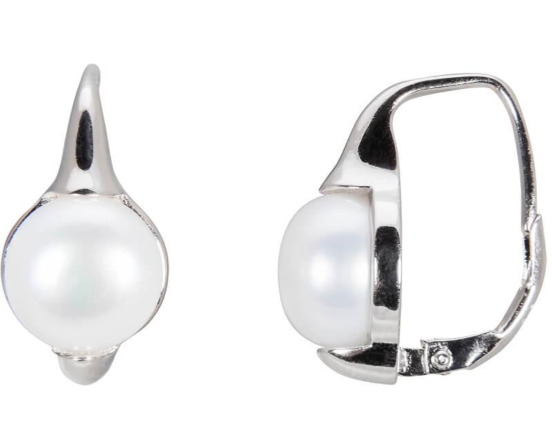 JwL Luxury Pearls Stříbrné náušnice s pravými perlami JL0460