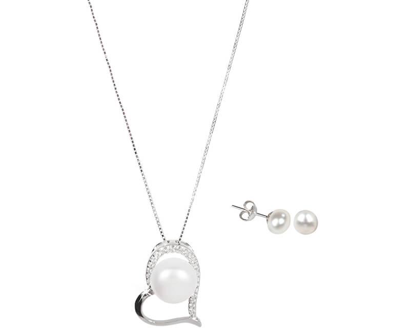 JwL Luxury Pearls Set bijuterii de lux JL0026 și JL0461