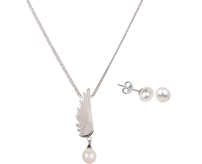 JwL Luxury Pearls Set bijuterii de lux JL0026 și JL0467