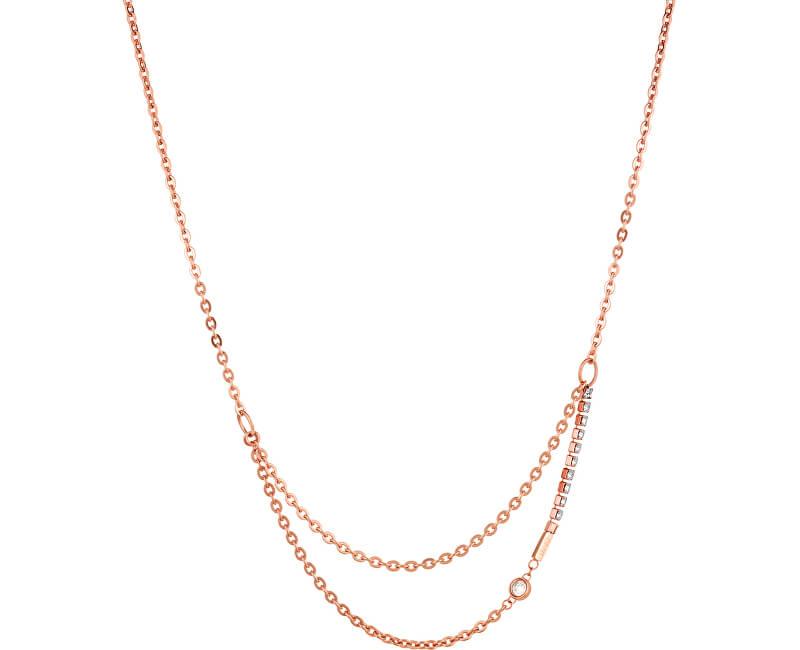 Liu.Jo Elegantní ocelový náhrdelník LJ1317