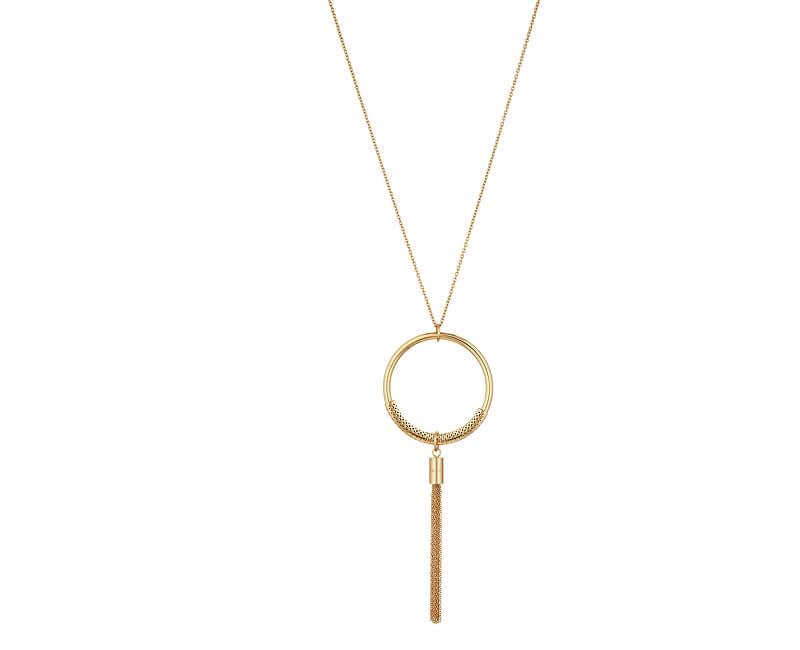Liu.Jo Pozlacený ocelový náhrdelník LJ1161