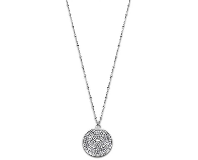 Lotus Style Ocelový náhrdelník s krystaly LS1871-1/1