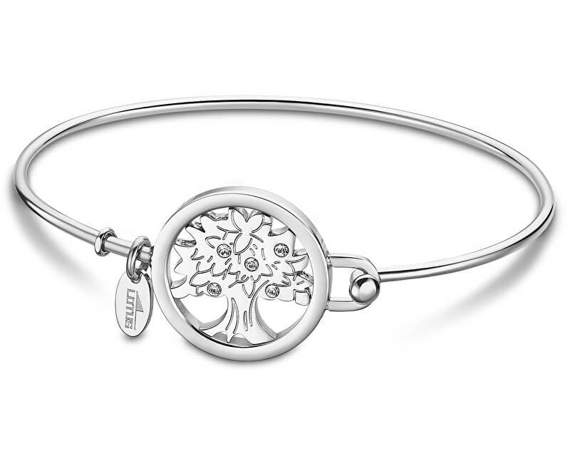 c56efd8ee Lotus Style Pevný oceľový náramok Strom života LS2014-2 / 3 ...