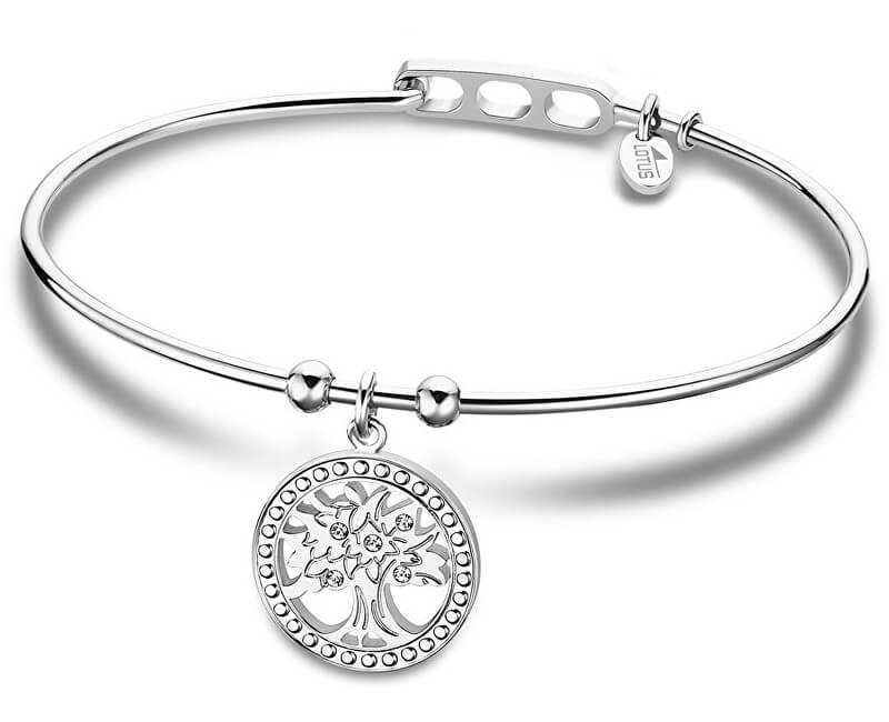 686399003 Lotus Style Pevný oceľový náramok Strom života LS2015-2 / 3 ...