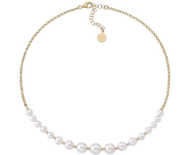 Majorica Luxusní náhrdelník s pravými perlami 14708.01.1.000.010.1