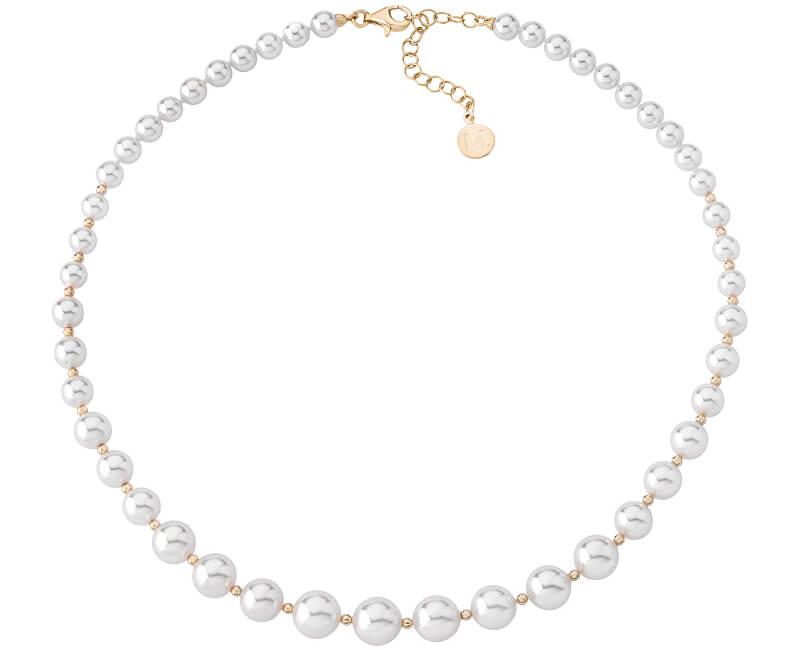 Majorica Luxusní náhrdelník s pravými perlami 14710.01.1.000.010.1