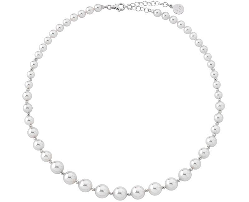 Majorica Luxusní náhrdelník s pravými perlami 14710.01.2.000.010.1