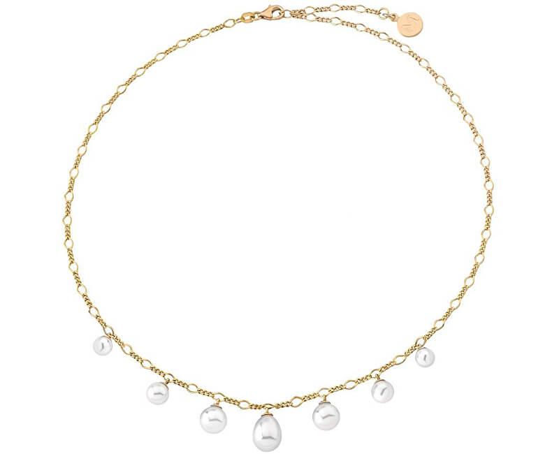 Majorica Luxusní náhrdelník s pravými perlami 14865.01.1.000.010.1