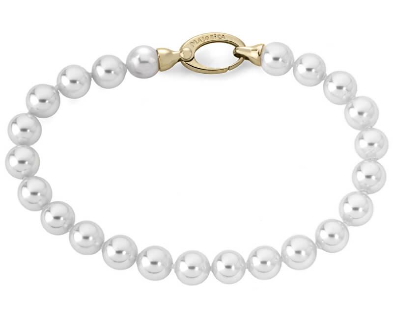 Majorica Náramek z pravých perel 09852.01.1.021.010.1