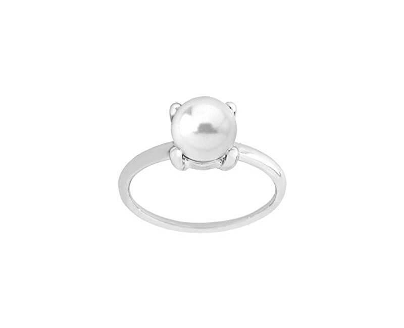 Majorica Stříbrný prsten s pravou perlou 14387.01.2.913.010.1