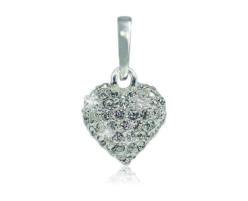 MHM Náhrdelník Srdce M4 Crystal 3151 (řetízek, přívěsek)