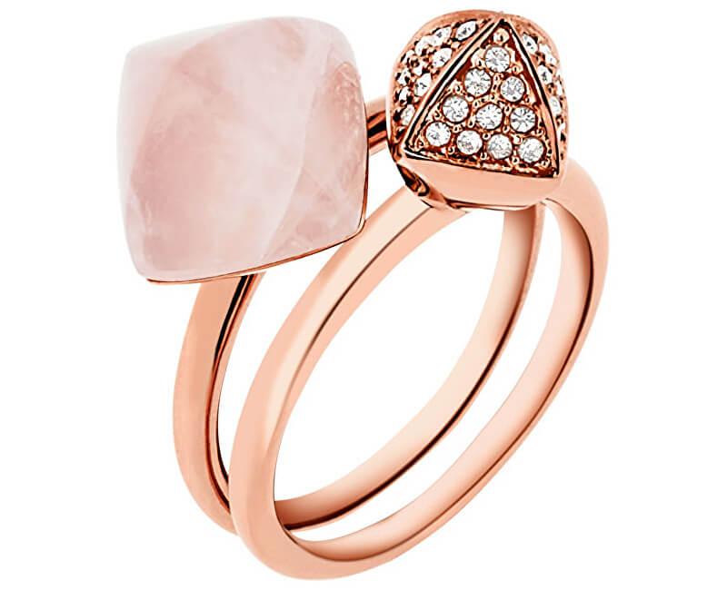 Michael Kors Luxusní sada dvou prstenů MKJ5255791