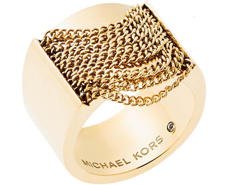 Michael Kors Inel masiv auriu inelar MKJ5795710