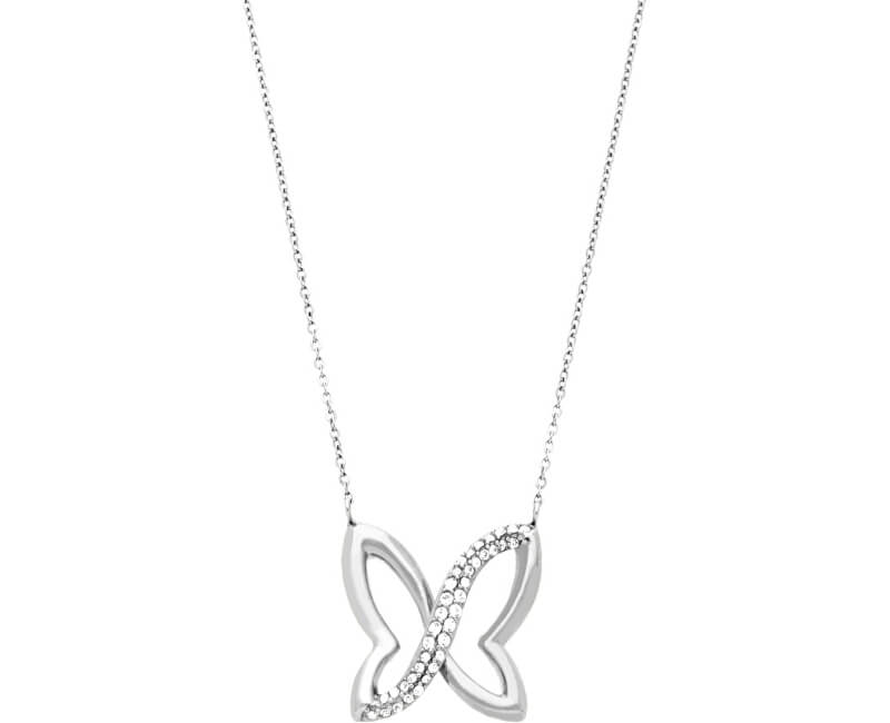 Morellato Colier din oțel cu flutureSAHO02
