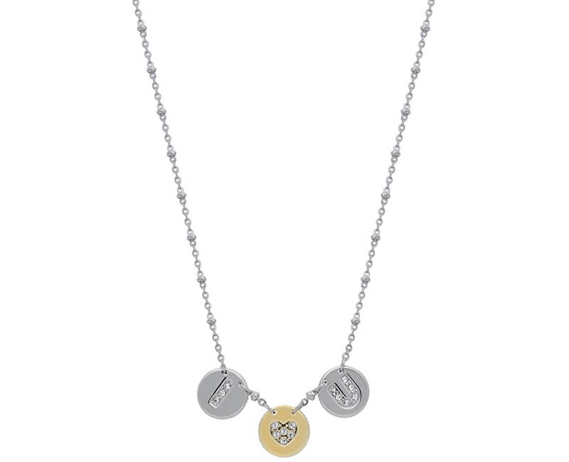 Morellato Colier din oțel cu monede Monetine SAHQ02