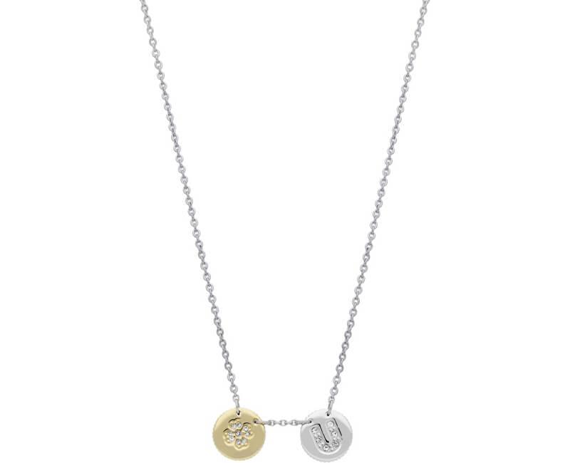 Morellato Colier din oțel cu monede Monetine SAHQ03