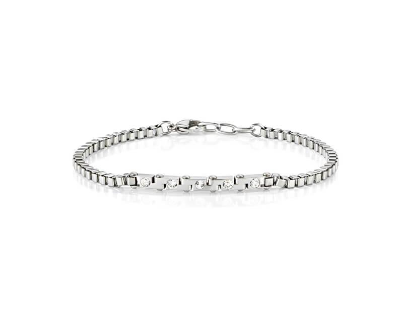 Morellato Ocelový náramek s krystaly Alfa SAEV09