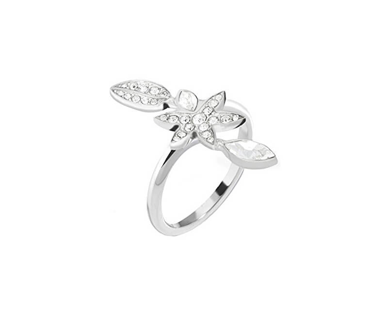 Morellato Ocelový prsten s květinou Natura SAHL17