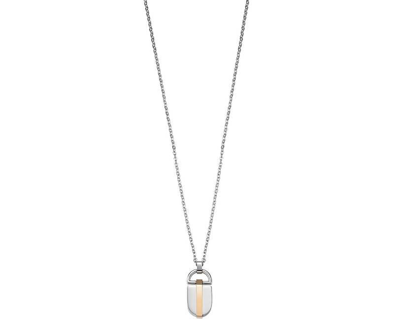 Morellato Pánský ocelový náhrdelník Rocce SALS08