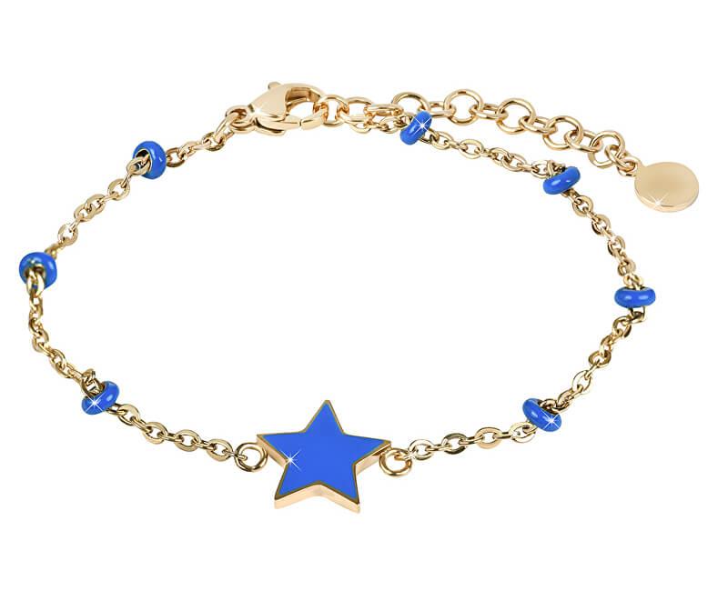 Morellato Bratara aurita cu steaua Bucura-te de SAJE34