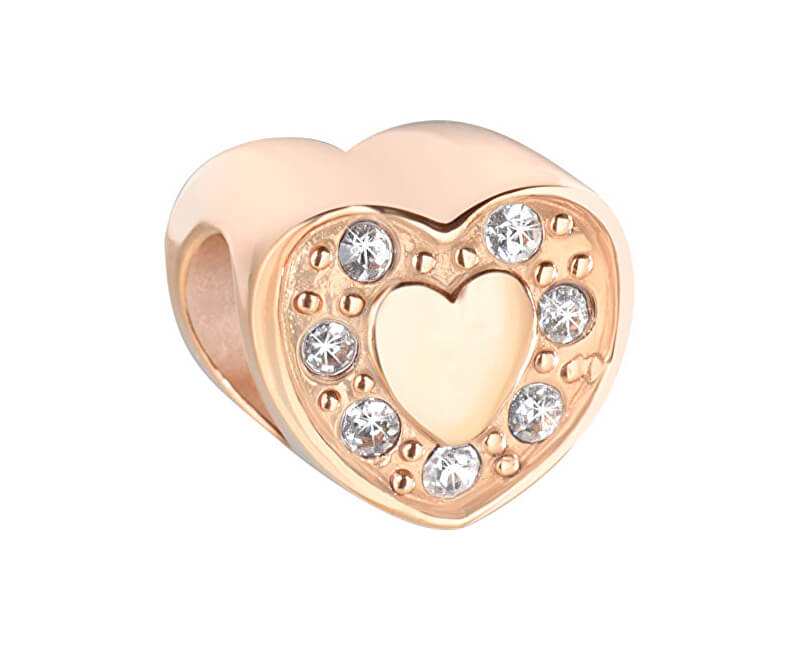 Morellato Pozlacený přívěsek Drops Heart SCZ603