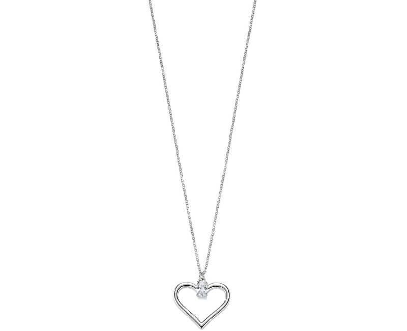 Morellato Romantický stříbrný náhrdelník Cuori SAIV21 (řetízek, přívěsek)