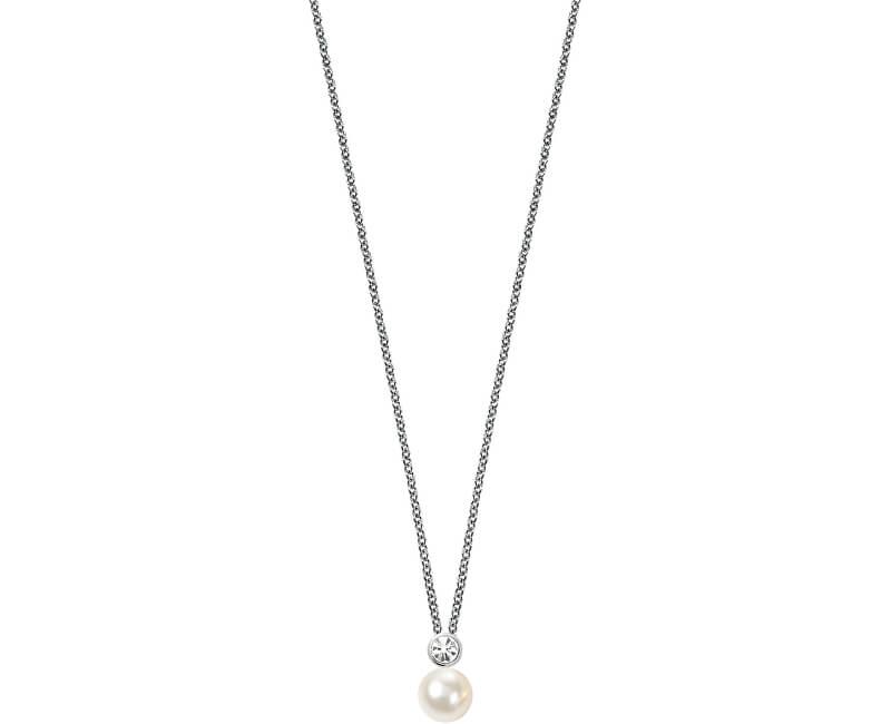 Morellato Stříbrný náhrdelník Perla SANH02