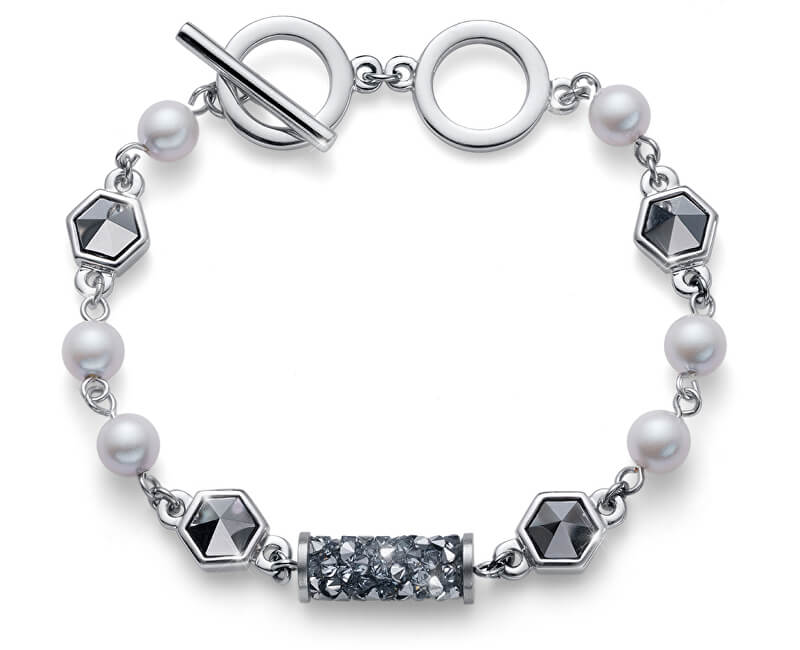 Oliver Weber Bratara de lux cu tuburi de cristale 32229